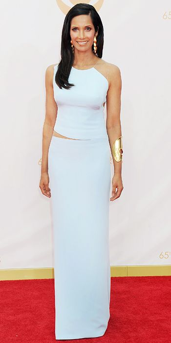 Padma Lakshmi in Kaufmanfranco at the 65th Annual Primetime Emmy Awards, 2013