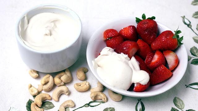 Creme de leite vegano SEM SOJA E SEM AMIDO Mais saudável | Dois ingredientes e SEM FOGÃO!
