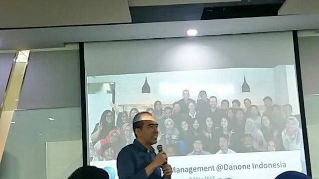 Evan Indrawijaya, HR Director Danone ELN Indonesia