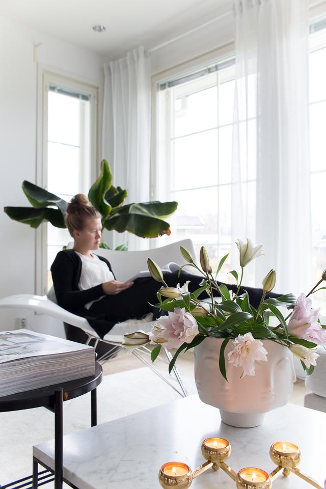 Villa H, oma tyyli, oma elämä, koti, olohuone, sisustaminen