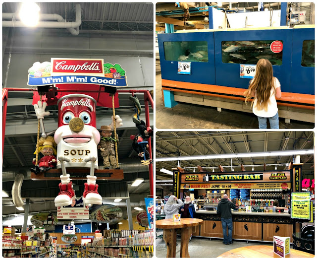 Not only is Jungle Jim's International Market the #1 stop in Butler County for foodies, craft beer lovers, & wine connoisseurs, but it also happens to have plenty of quirky and kid friendly displays and installations to get keep the kiddos entertained & happy while mom & dad browse the 6.5 acres of aisles.