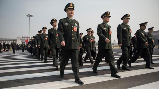 China ostenta ante EEUU sus estrechos lazos militares con Rusia