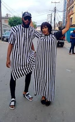 Juliet Ibrahim & Swankyjerry all look good in their step out outfit,