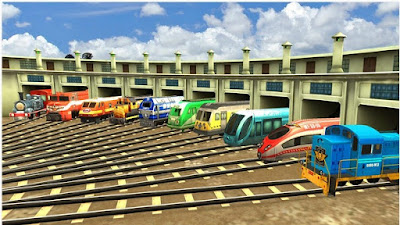 Train Simulator 2016 MOD (Unlimited Coins+Unlocked All Train) v8.8