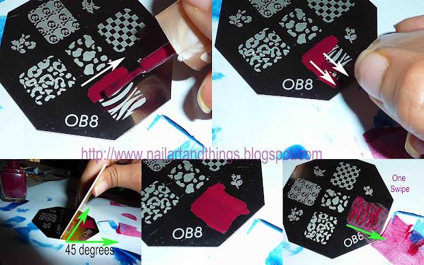 Nailart And Stamping Nail Art Tutorial Tips