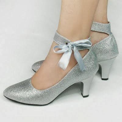 Wedding Shoes for Women, Bridal Footwear High Heels for Girls-IndianRamp.com