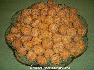 Margaret's Morsels | Sausage Balls