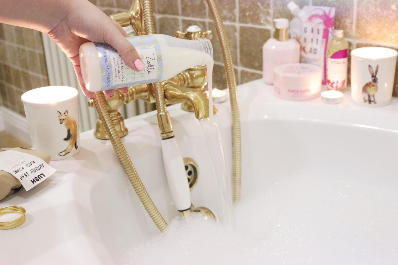 Výsledek obrázku pro pamper routine shower