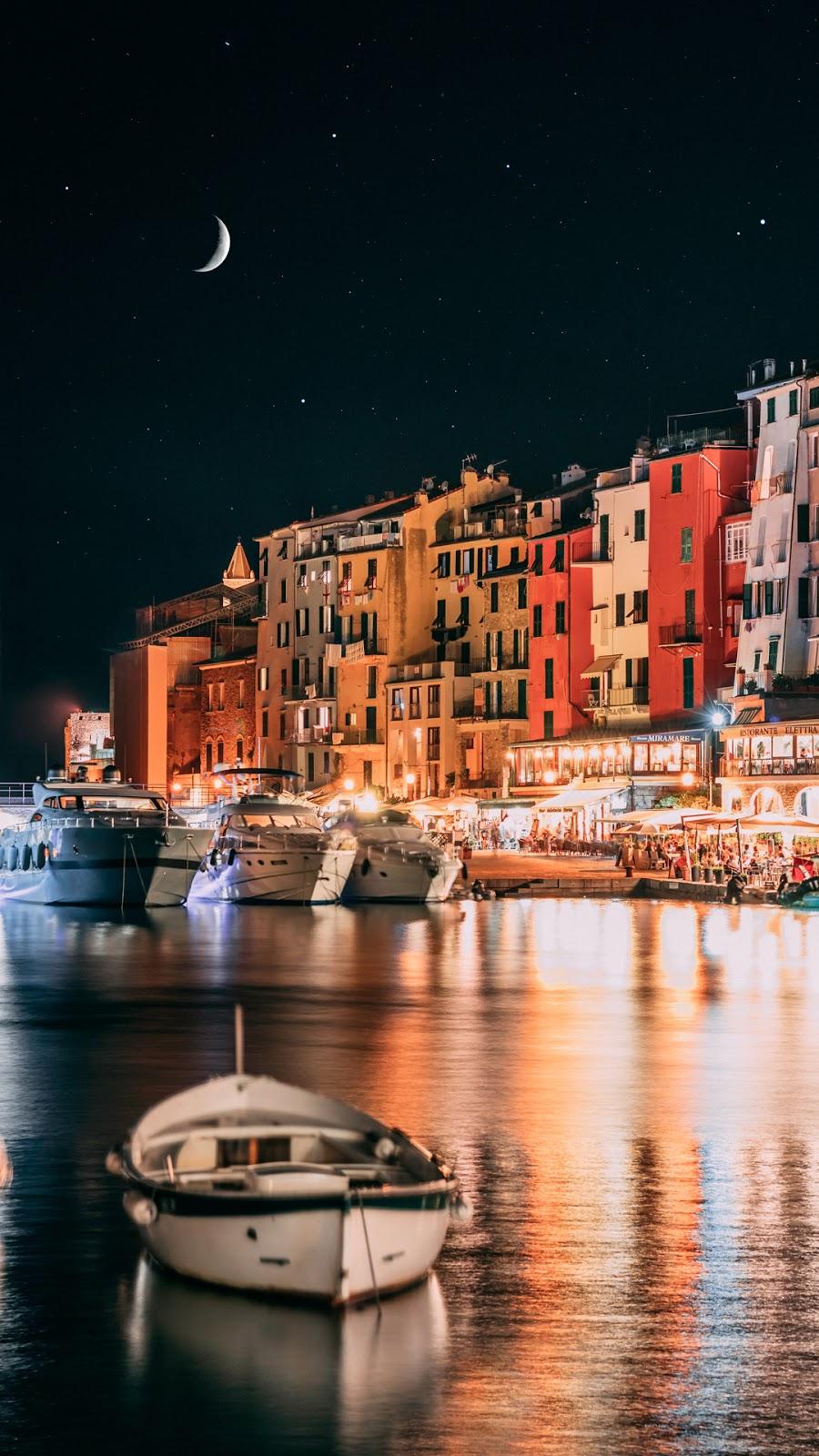 Beautiful night in Italy