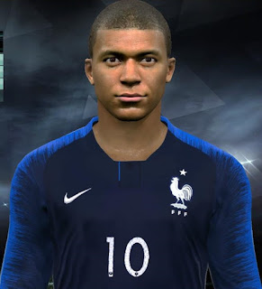 PES 2017 Faces Kylian Mbappé by Facemaker Huseyn