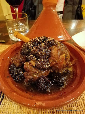 The Flying Carpet lamb and prune tagine