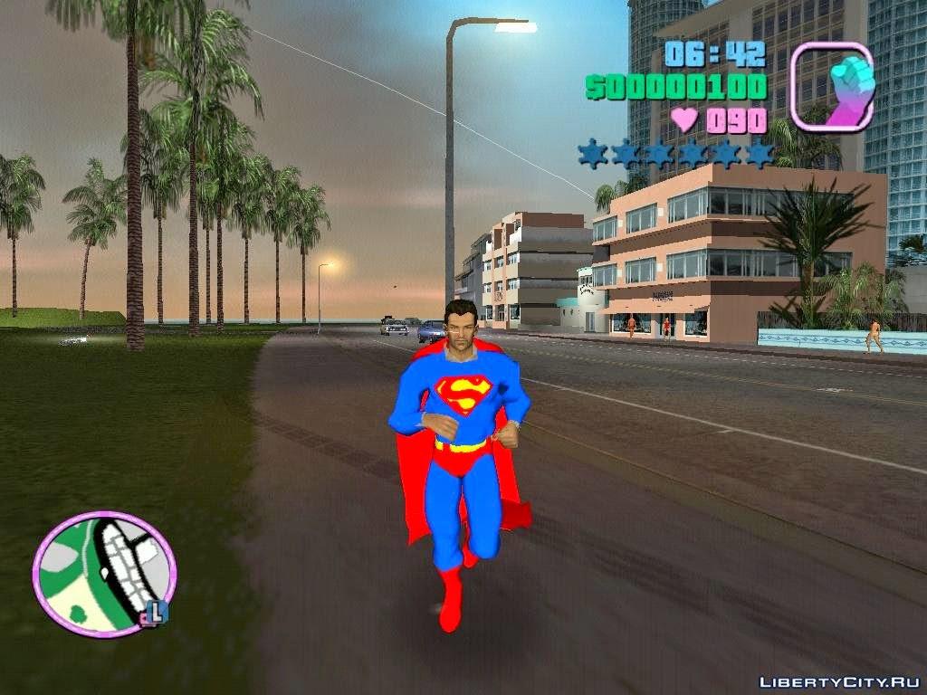 GTA San Andreas Superman MOD - Full Version Game Download