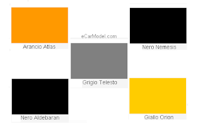 Cars: Lamborghini Exterior Color