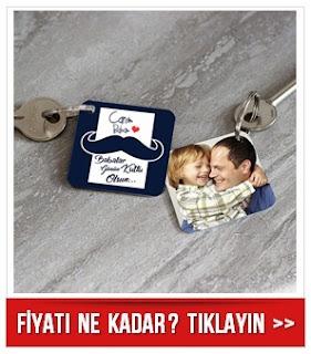 Babalar Gününe Özel Anahtarlık