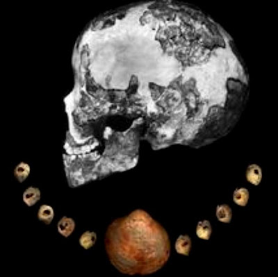 Dating of beads sets new timeline for early humans