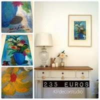 Comprar arte español. Venta de cuadros sobre tabla. Decorar con cuadros