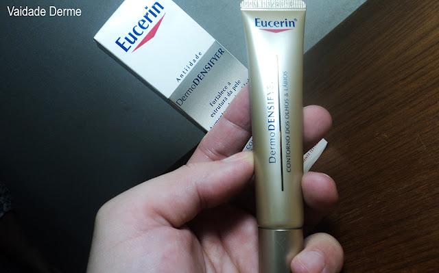 Eucerin Dermodensifyer Contorno dos Olhos e Lábios FPS 15 Creme Anti Idade