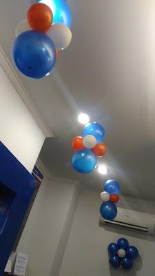 lampion balon merupakan variasi dekorasi yang di gantungkan pada langit-langit