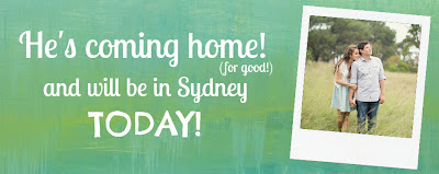 Jesse's finally coming home and moving to Sydney!