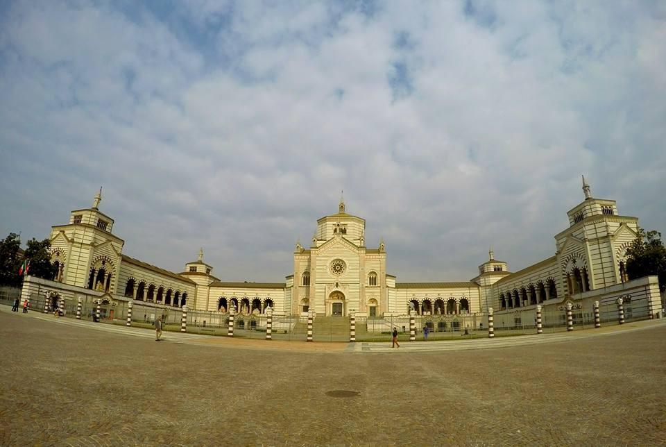 Italie Milan cimetière Monumental