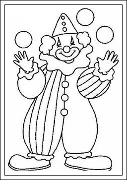 ausmalbilder zum ausdrucken: ausmalbilder clown kostenlos ausdrucken