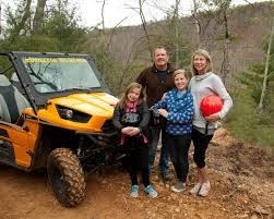 Family four-wheeled fun near Gatlinburg