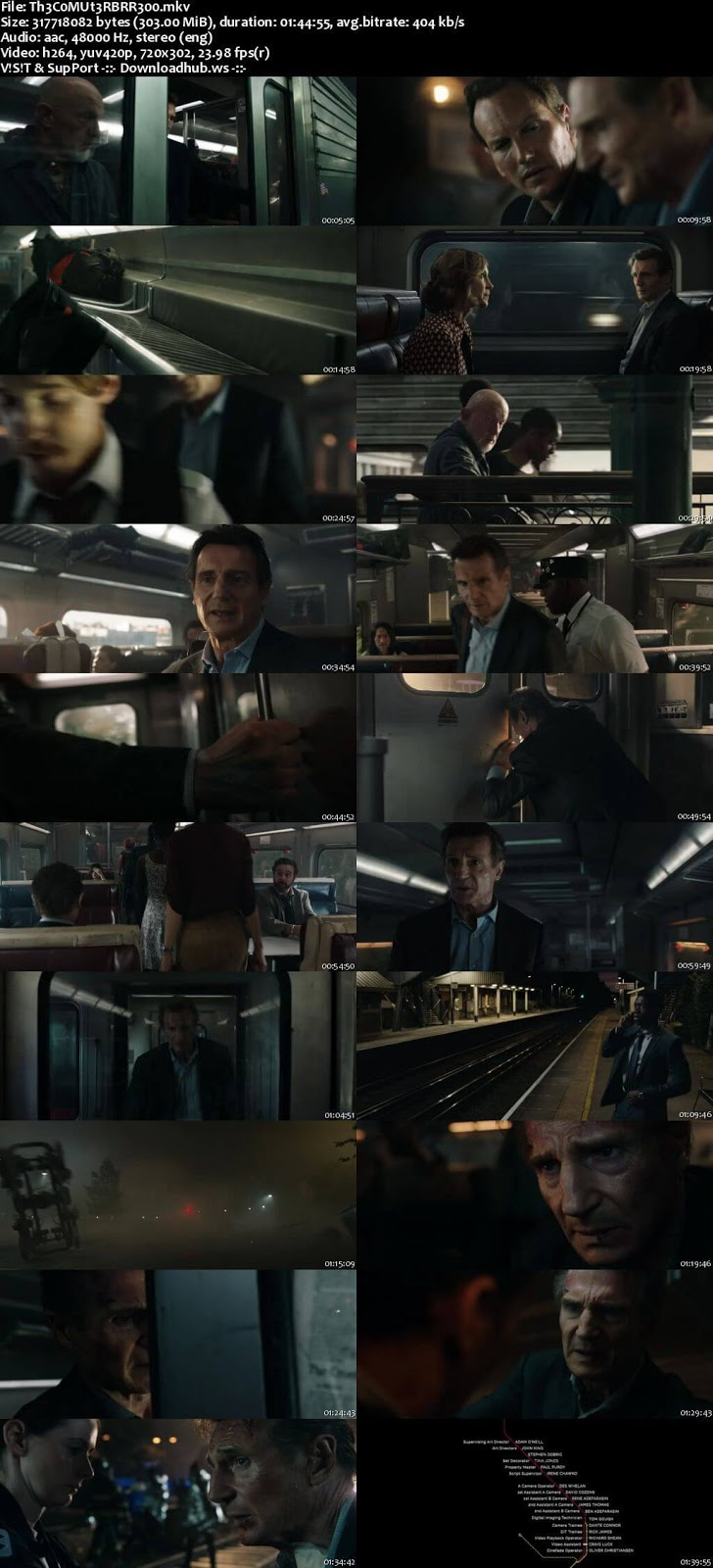 The Commuter 2018 English 480p BRRip ESubs