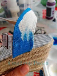 Zapatos-esparto-Gorjuss-pintura-en-tela-Crea2-con-Pasión-primer-paso