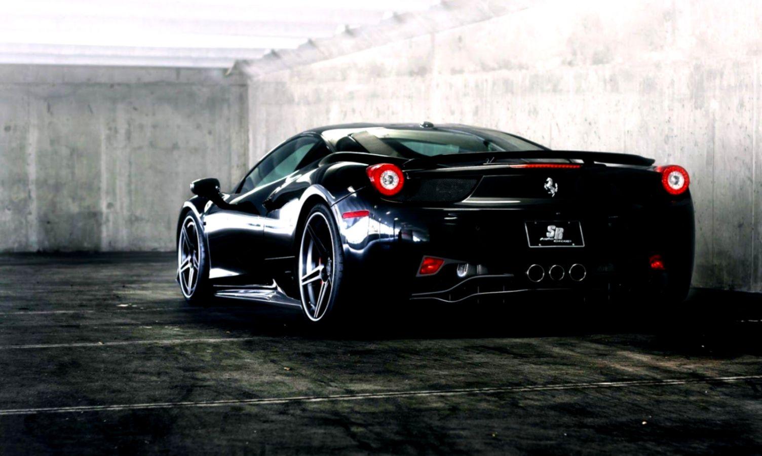 Ferrari 458 Italia Wallpaper Black 1080P | Smart Wallpapers