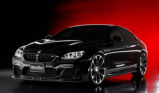 BMW 6 Series Gran Coupe on Black Bison Kit