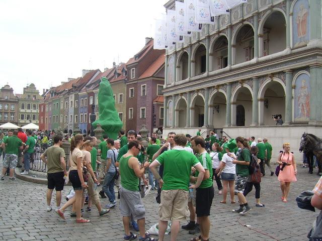 Euro 2012 - Irish Poznań