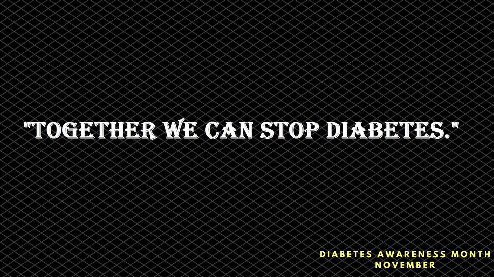 world diabetes day slogans