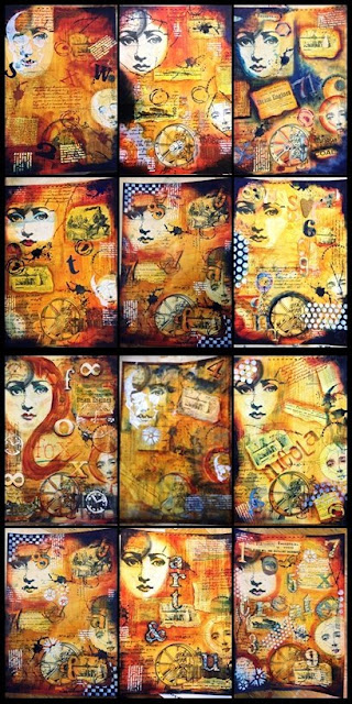 steampunk mixed media on stix 2