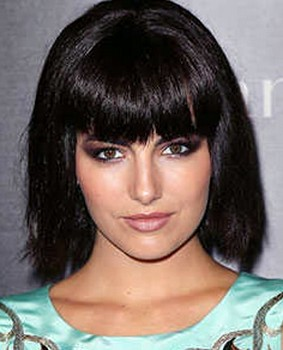 Model rambut wanita bob tumpul