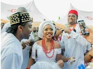 Too Disgusting: Linda Ikeji Abandon Sister's Traditional Wedding for Blogging