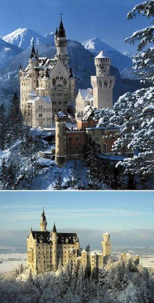 qcpacun5 Benteng & Istana Eksotis di Dunia