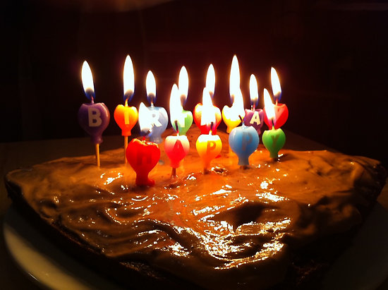 Cute Pre Teen Computer Wallpapers Birthday Cakes With Candles Birthday