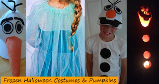 Disney Frozen Halloween costumes elsa olaf