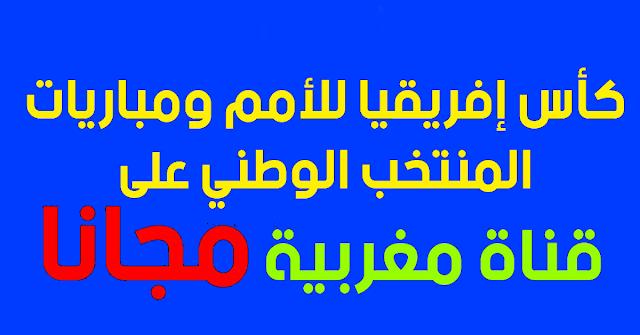 كأس إفريقيا على القناة الأمازيغية المغربية مجانا