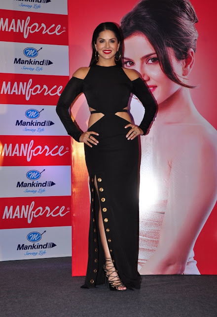 Sunny Leone At The Manforce Calendar Launch Event in Mumbai