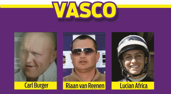Hollywoodbets Durban July Pre-Party 2016 - Vasco Panel - Carl Burger, Riaan van Reenen, Lucian Africa