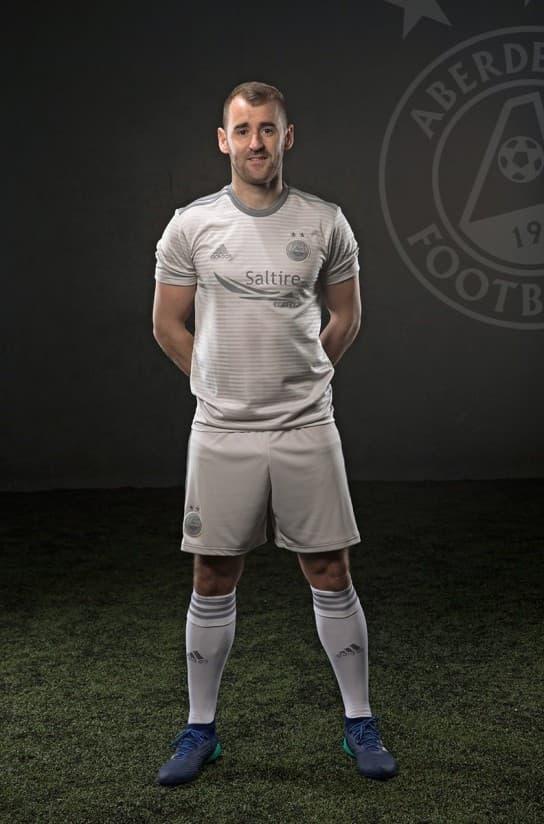 アバディーンFC 2018-19 ユニフォーム-アウェイ