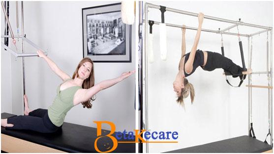 Pilates Shoulder Pain Alleviation on Trapeze Table