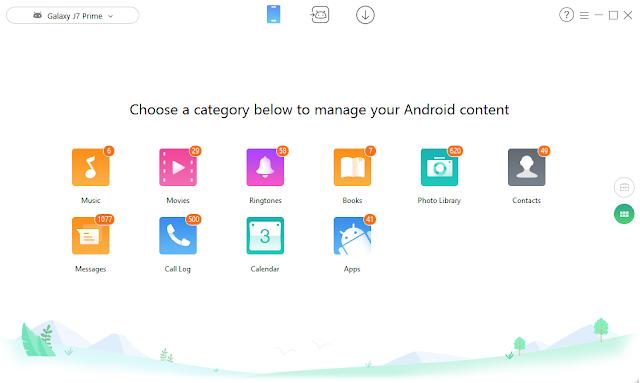 تحميل برنامج AnyTrans for Android  نسخة مفعلة تلقائى