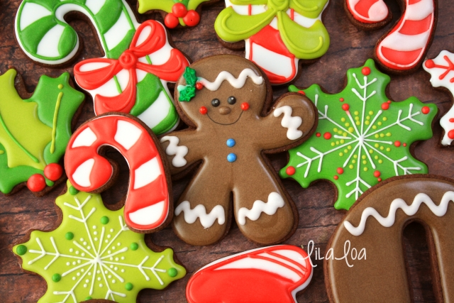 Easy gingerbread man cookies for Christmas