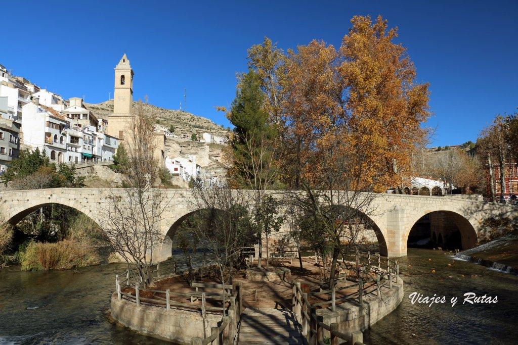 Puente de origen romano de Alcalá del Júcar