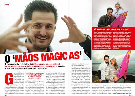 """Luís nascimento, o """"Mãos mágicas"""""""