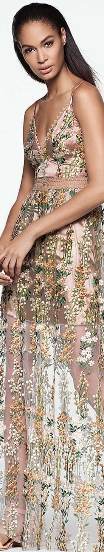 AQUA x Maddie & Tae Embellished Maxi Dress