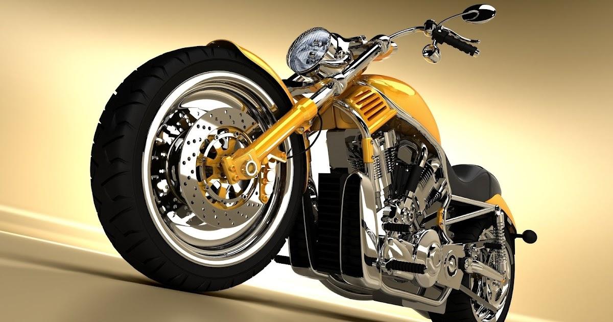 Imagenes De Motos Harley: Motocicleta Amarilla Harley