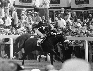 Mill Reef Winning Epsom Derby 1971